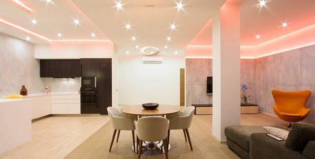 salon-comedor-luces-modernas
